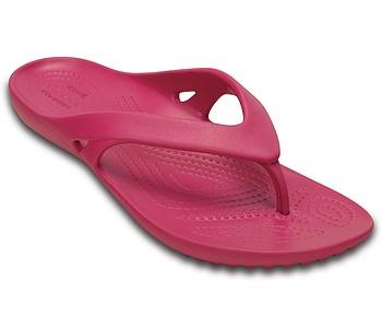 žabky Crocs Kadee II Flip - Raspberry - boty-boty.cz - doprava zdarma 78425afd63