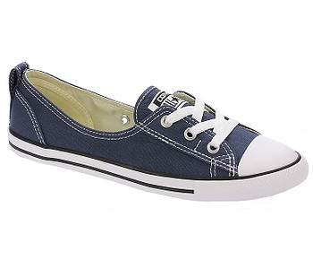 BOTY CONVERSE CHUCK TAYLOR ALL STAR BALLET LACE SLIP - 547165 NAVY ... dbed63a2fd7