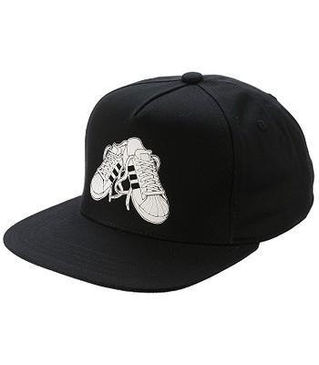 kšiltovka adidas Originals Snapback Sneaker - Black  d3c0c5c247