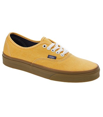 fc24e5cfdc boty Vans Authentic - Washed Canvas Citrus Gum