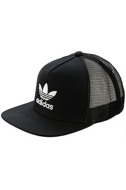 2d852dad75b šiltovka adidas Originals Trefoil Trucker - Black