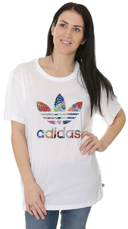 tričko adidas Originals Graphic - White
