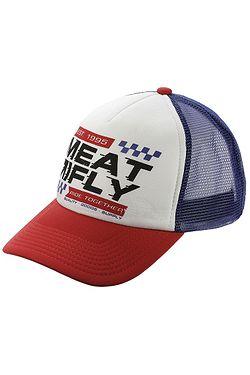 kšiltovka Meatfly Gonzales Trucker - A White Blue ... b32c008c33