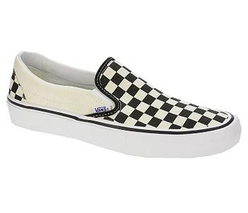 50bbce30ff4 boty Vans Slip-On Pro - Checkerboard Black White - boty-boty.cz ...