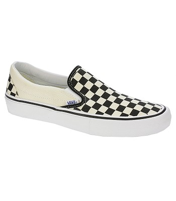 boty Vans Slip-On Pro - Checkerboard Black White  e157a4617ed