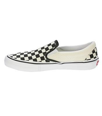 ed25e23a65 topánky Vans Slip-On Pro - Checkerboard Black White - snowboard ...