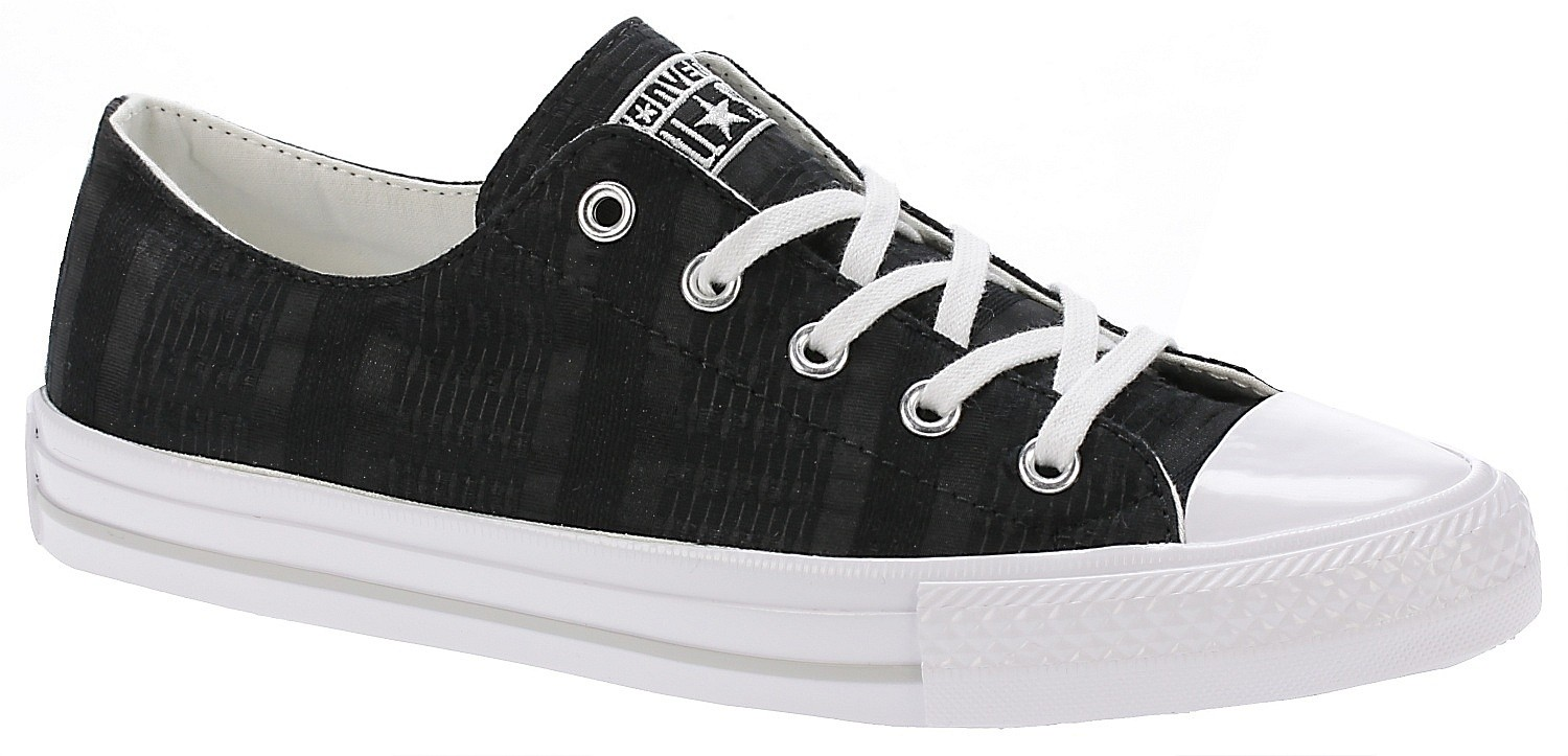 shoes Converse Chuck Taylor All Star Gemma Engineered Lace OX - 555843/Black/White/Mouse  - blackcomb-shop.eu