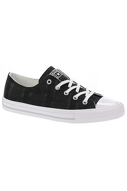 topánky Converse Chuck Taylor All Star Gemma Engineered Lace OX -  555843 Black White b6ac113f939