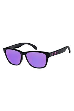 okuliare Roxy Mini Uma - XKKM Shiny Black ML Purple 368a197bbb7