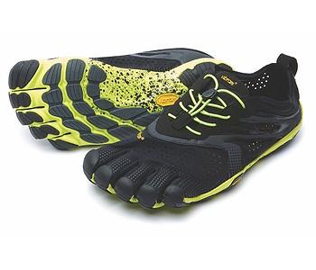 boty Vibram Fivefingers V Run - Black Yellow - boty-boty.cz ... 5ecfa5ff98