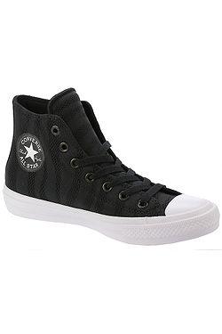 boty Converse Chuck Taylor All Star II Hi - 155493 Black White Gum fe915dc040