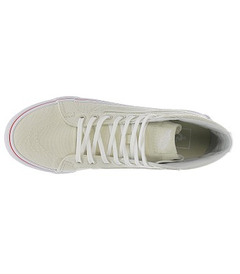 e1581ebaa1 shoes Vans Sk8-Hi Slim - Leather Canvas Bone True White. IN STOCK ‐ by 8.  4. at your home -40%
