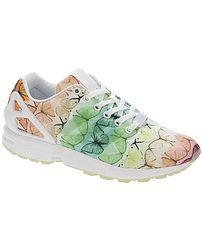 topánky adidas Originals ZX Flux - White White Linen Green bcc1d914bb
