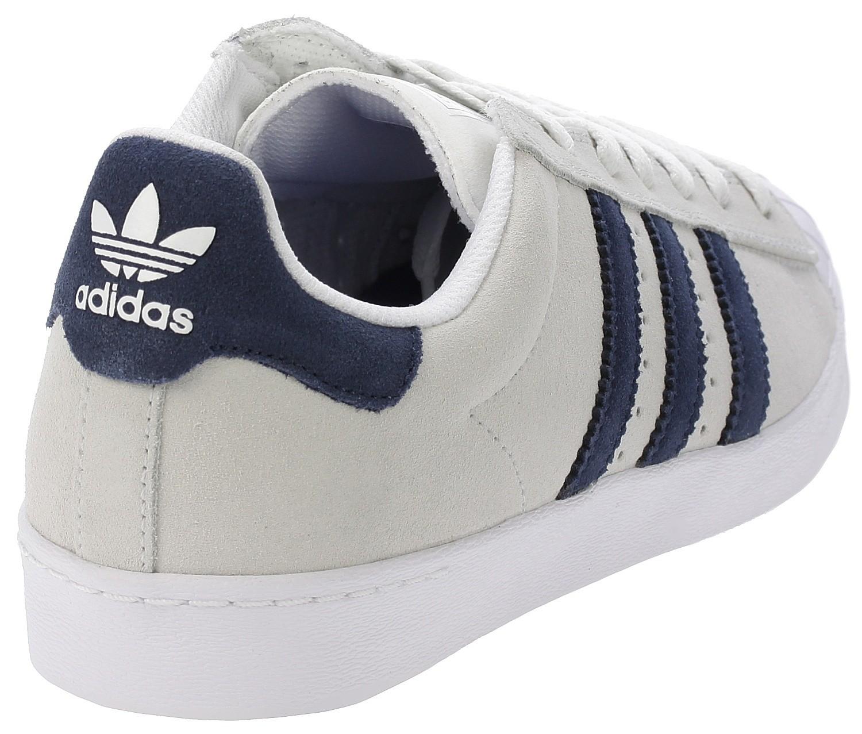 Scarpe adidas originali superstar, te avanzata crystal white / collegiale