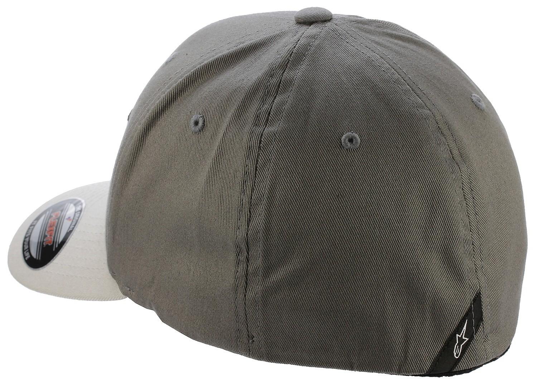 Alpinestars Mens Curve Flexfit Cap ~ Ageless charcoal//black