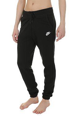 8421df790b4de tepláky Nike Sportswear Fleece Reg - 010/Black/Black/White