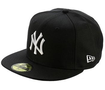 85b5e195d šiltovka New Era 59F League Basic MLB New York Yankees - Black/White Logo