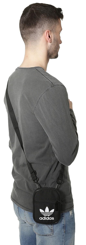 bag adidas Originals Festival B Trefoil Black blackcomb