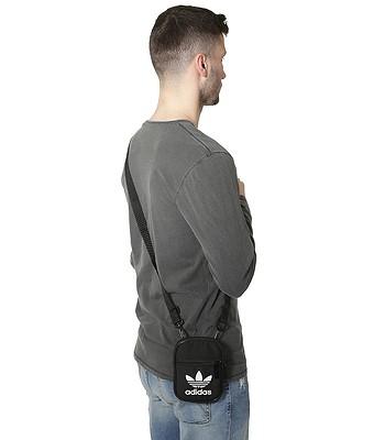 63f5016ffe07 bag adidas Originals Festival B Trefoil - Black - blackcomb-shop.eu