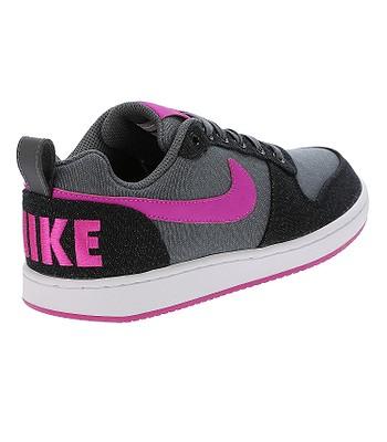 253759aed5aa buty Nike Court Borough Low Premium - Dark Gray Fire Pink Black White -  blackcomb-shop.pl