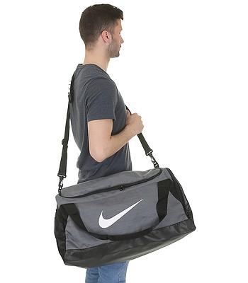 cac557d166 taška Nike Brasilia Medium - 064 Flint Gray Black White