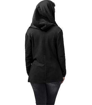 75e4ec2474 sweatshirt Urban Classics Hooded Sweat Cardigan TB1330 - Black ...