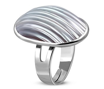 prsteň Body Art FRA131 - Pearl