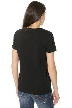 ... tričko Converse Metallic Chuck Patch V Neck 10003630 - A03 Black f70f5d0e10