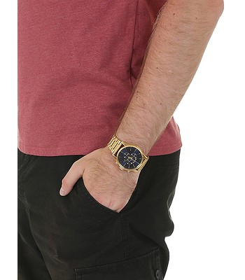 256146d29 watch Nixon Sentry Chrono - Gold/Blue/Sunray - blackcomb-shop.eu