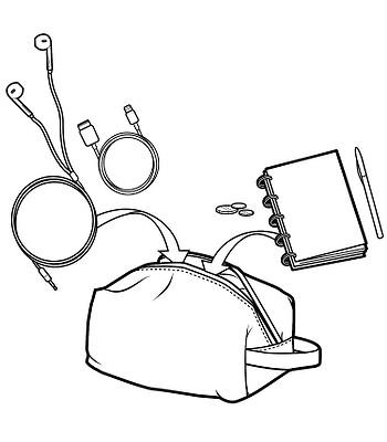 puzdro Burton Accessory Case - Bohemia Print  01a6f74100a