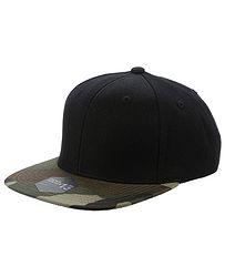 e96e884e2 šiltovka State of WOW Crown 13 Snapback - Black Camo