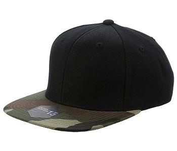kšiltovka State of WOW Crown 13 Snapback - Black Camo