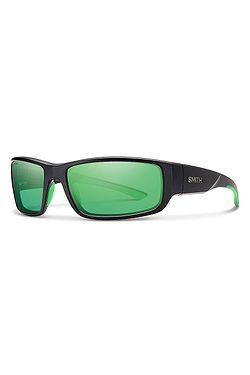 3717bbef4 okuliare Smith Survey/S - Matte Black/Polarized Green Mirror