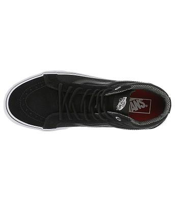 topánky Vans Sk8-Hi Reissue - Reflective Black - snowboard-online.sk 9e816334f07