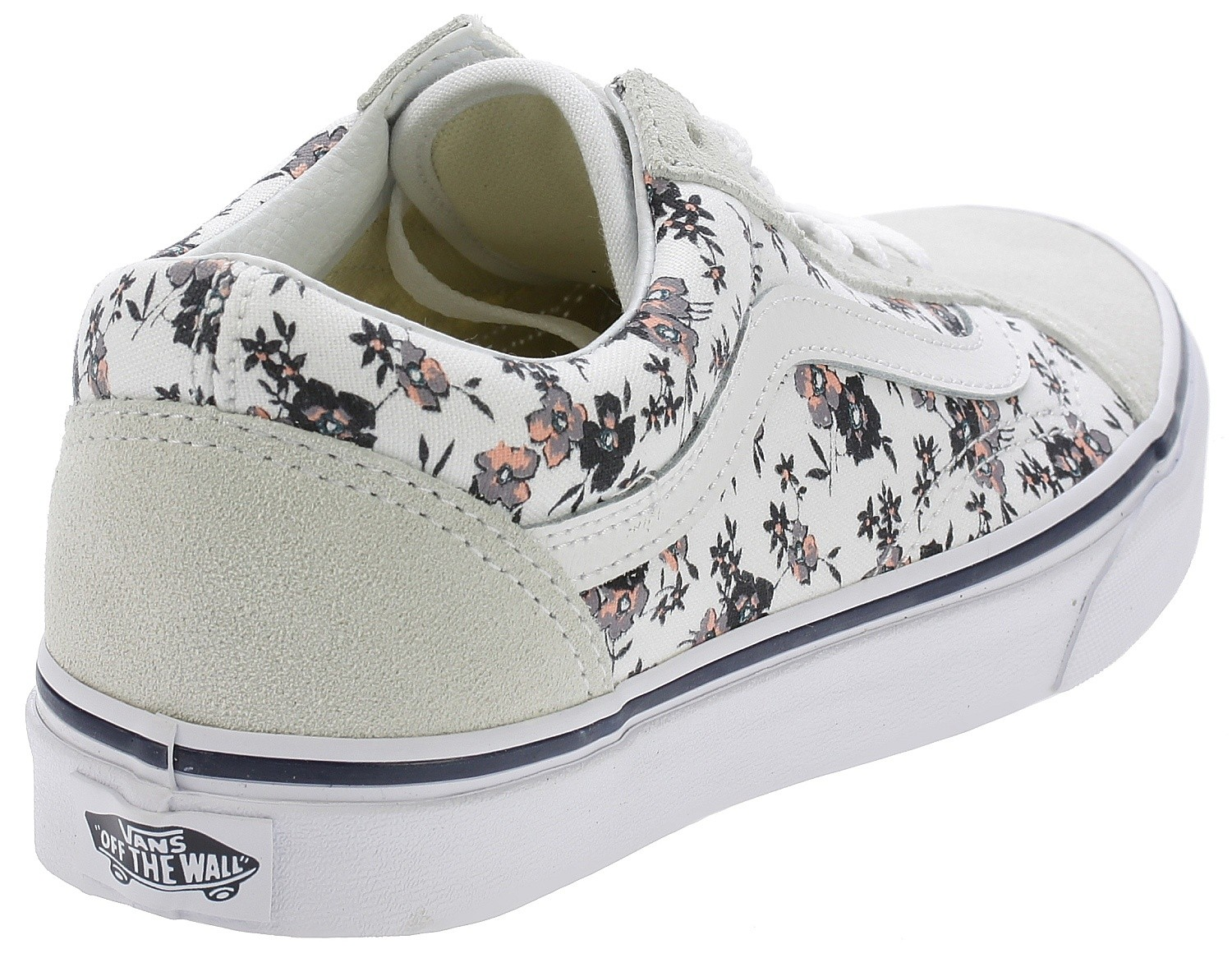 Ditsy White Bloomtrue Skool Vans Old Chaussures XqwtpgxHnq