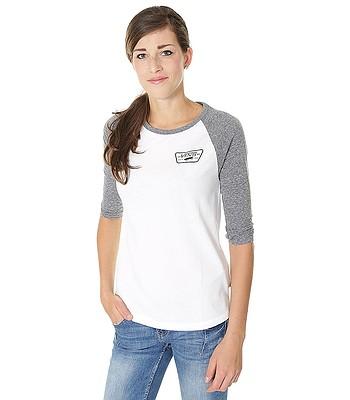 tričko Vans Full Patch Raglan - White Gray Heather  1a45b31cf5
