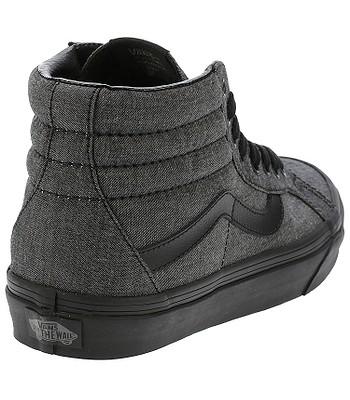 39a53a132a3 shoes Vans Sk8-Hi Reissue - Mono Chambray Black Black - blackcomb ...