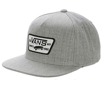 kšiltovka Vans Full Patch Snapback - Heather Gray