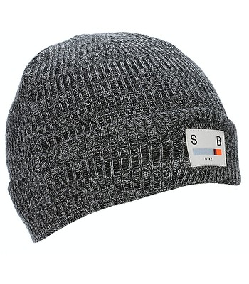 čepice Nike SB Surplus - 010 Black Dark Gray Wolf Gray - snowboard ... 6ec985b442