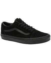 topánky Vans Old Skool - Suede Black Black Black b0f147fa9cf