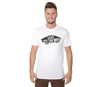 tričko Vans OTW - White/Black