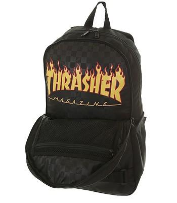 321771234a batoh Vans Authentic III Skatepack - Black Thrasher. Produkt už nie je  dostupný.