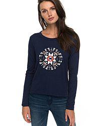 043d8caf4ad tričko Roxy Lily Yucca LS - BTKH Dress Blues Heather