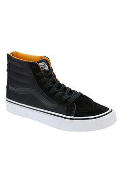 94ce777a7f89 topánky Vans Sk8-Hi Slim Zip - Boom Boom Black True White