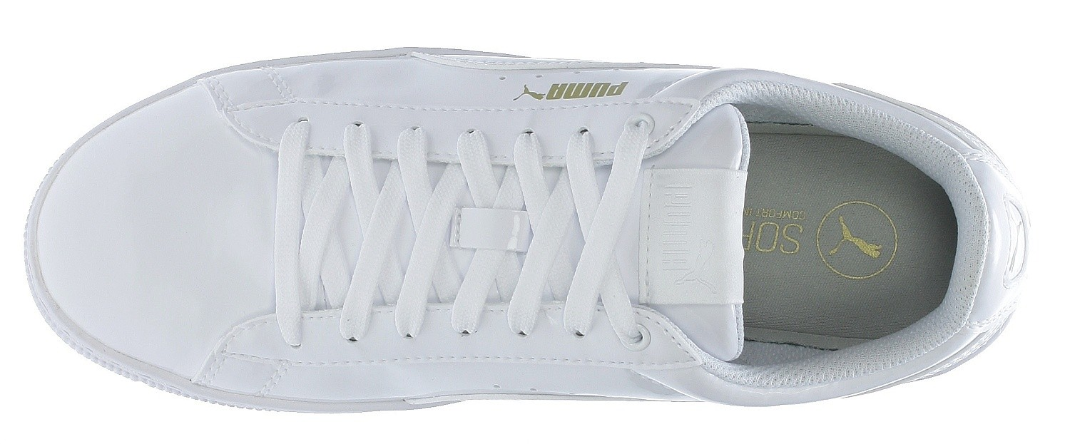 PUMA 'Vikky Platform Patent' Sneakers in weiß | ABOUT YOU