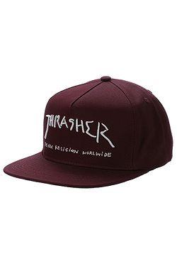 2aaacdfee šiltovka Thrasher New Religion - Maroon ...