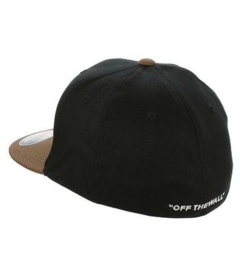 šiltovka Vans Splitz Flexfit - Black Toffee  f47c6cd6722