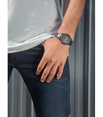 06ff85b437b6f watch Quiksilver Bienville Leather - XKMK Black Rose Gold Black ...