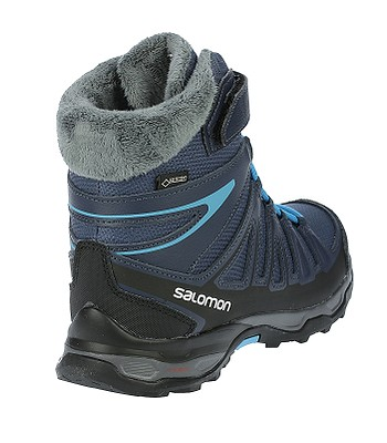 best website 51793 eabc6 boty Salomon X-Ultra Winter GTX J - Slateblue/Deep Blue ...