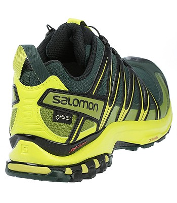 boty Salomon XA Pro 3D GTX - Darkest Spruce Sulphur Spring Black ... 9604a9e827